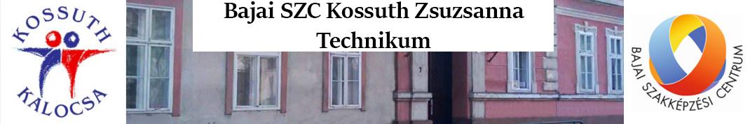 Bajai SZC Kossuth Zsuzsanna